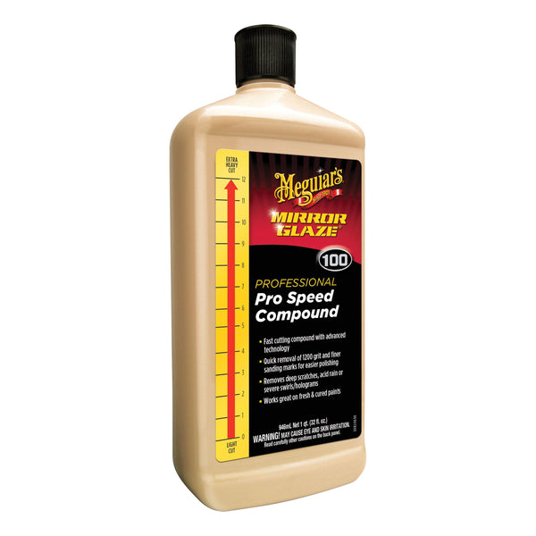 Meguiar's Mirror Glaze Pro Speed Compound - 32 oz