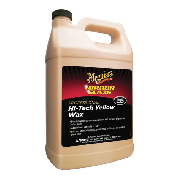 Meguiar's Mirror Glaze Hi-Tech Wax - 1 gal