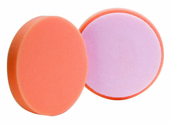 "Buff And Shine 5"" Euro Orange Med Cut Foam Pad"