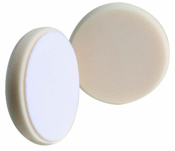 "Buff and Shine 6.5"" White Ultimate Finish Foam Pad"