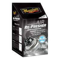 Meguiar's Whole Car Air Re-Fresher Odor Eliminator - Black Chrome Scent
