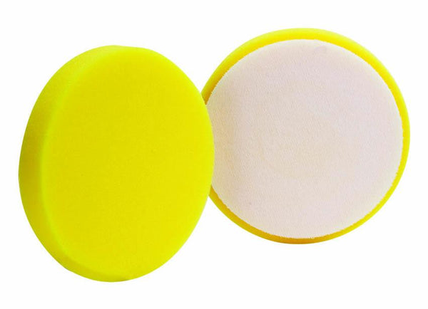 "Buff And Shine 5.5"" Euro Yellow Heavy Cut Foam Pad"