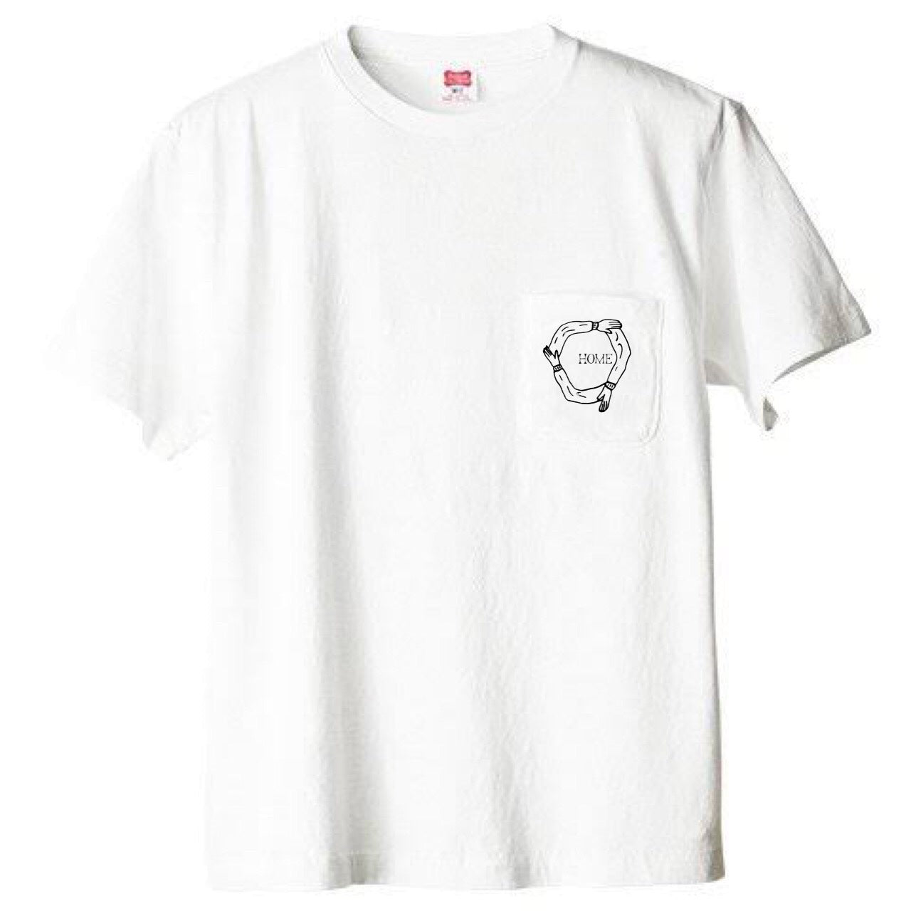 HOME T-SHIRT designed by 河原太朗 (ampel)