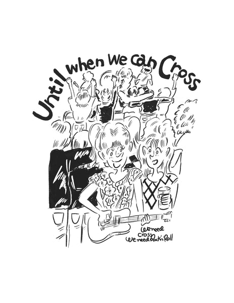"""Until when we can Cross"" トートバッグ"