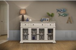 Bonanza Console Table White