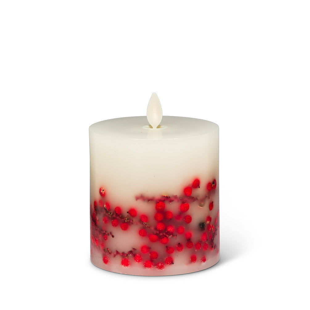 Realite Candle Wild Berries Wax Battery Operated Candle