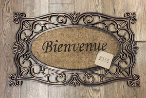 Bienvenue Door Mat