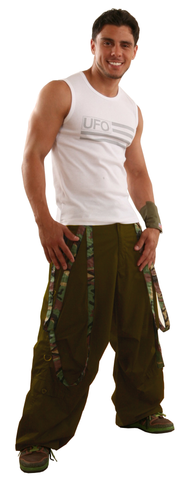 Wind Pant with Camo Multi Straps #89170 Unisex