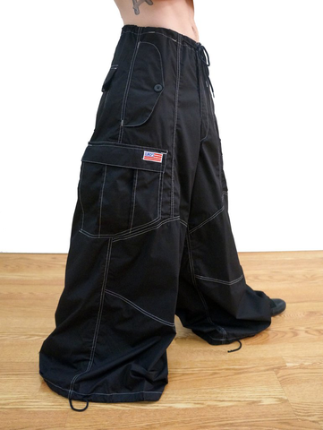 "40"" Wide Leg Contrast Knee Pant #83920 Mens"