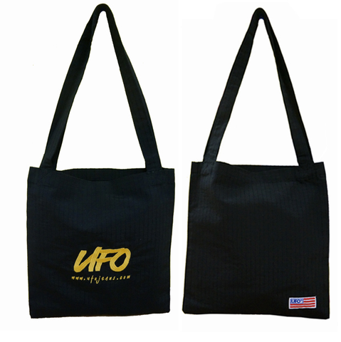 UFO Embroidered Bag in Parachute Fabric #92085