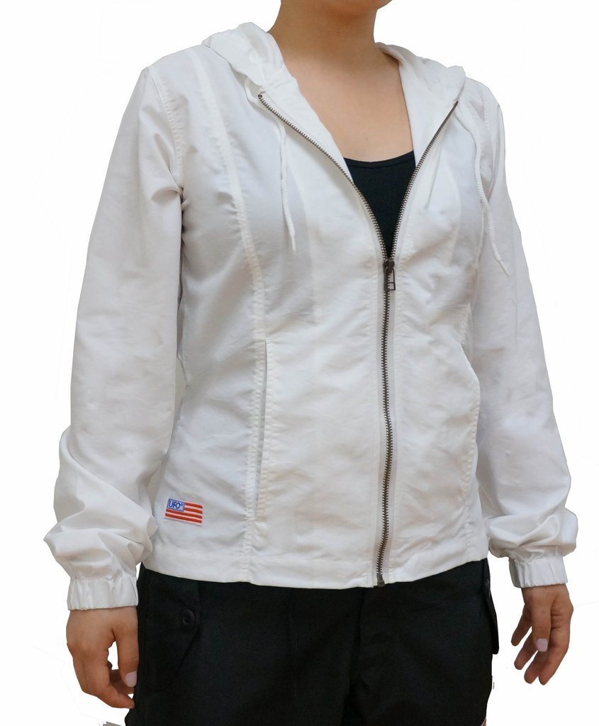 Girly Fitted Jacket in Micro Twill  #84005
