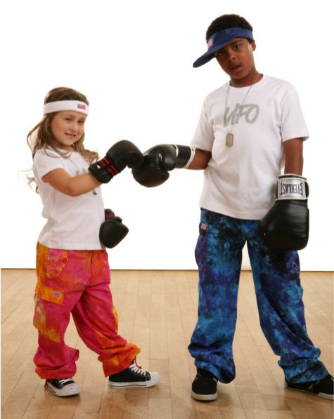 Kids Tie Dyed Pant in 100% Cotton  #62315