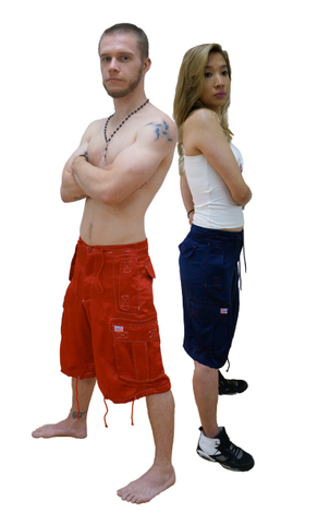 Luminous Hero Short with Contrast Stitching #92120 Mens