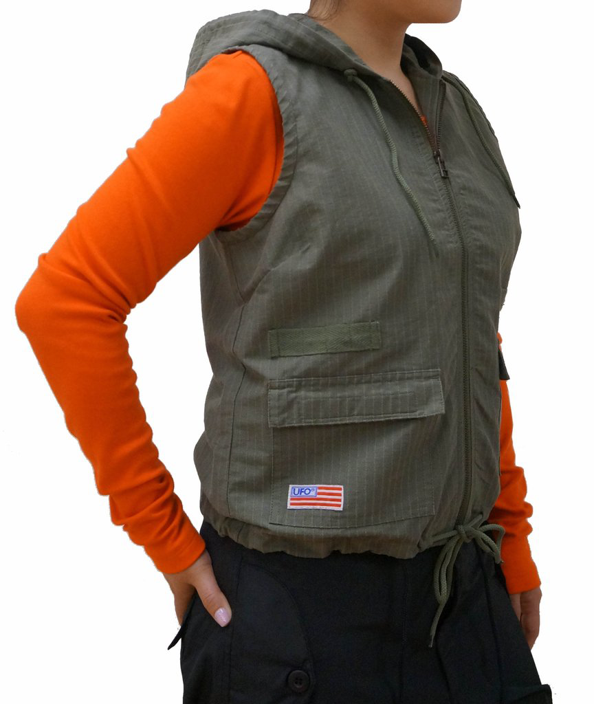 Girls Parachute Fitted Vest #83800