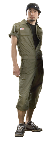 Short Wind Coverall #82465 Mens