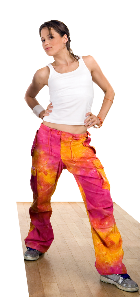 Tie Dyed Hipster Pant #82320