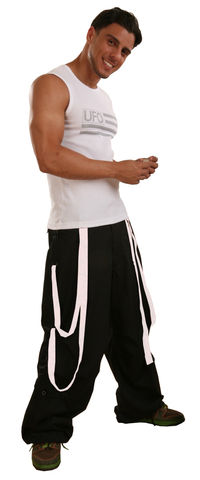 Wind Pant with Multi Straps #88965 Mens