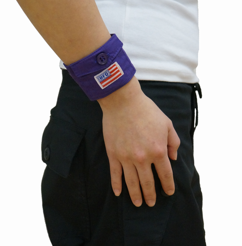 UFO Pocket Wrist Band in Wind Fabric #22065