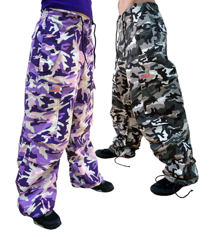 Camo Flap Pocket Pant #86725 Mens