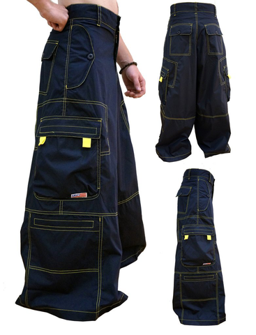 "40"" Wide Leg Seamed Pant with Contrast Stitching #83905 Mens"