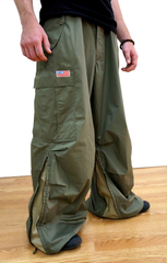 Expandable Inset Zipper Wind Pant #82915 Unisex
