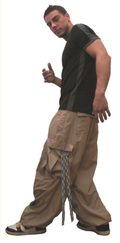 Wind Pant with Racer Reflective Tape #84500 Mens