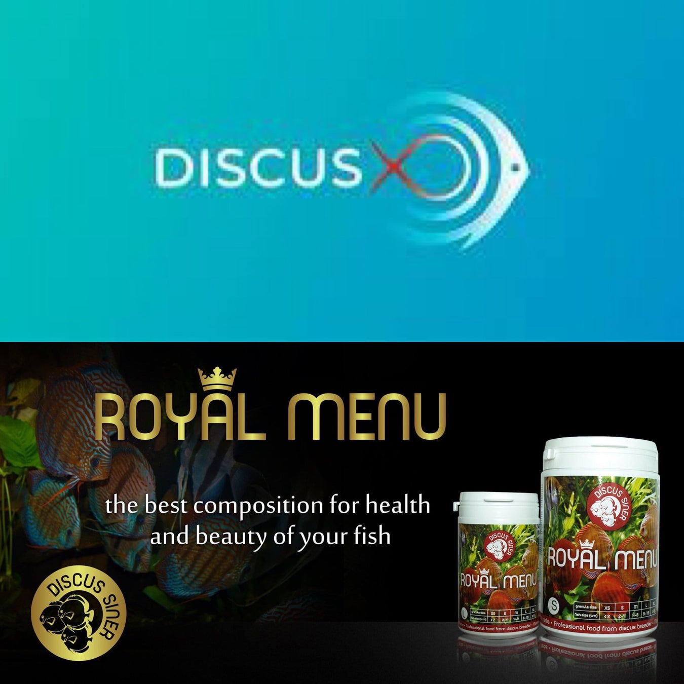 DiscusX / Royal Menu