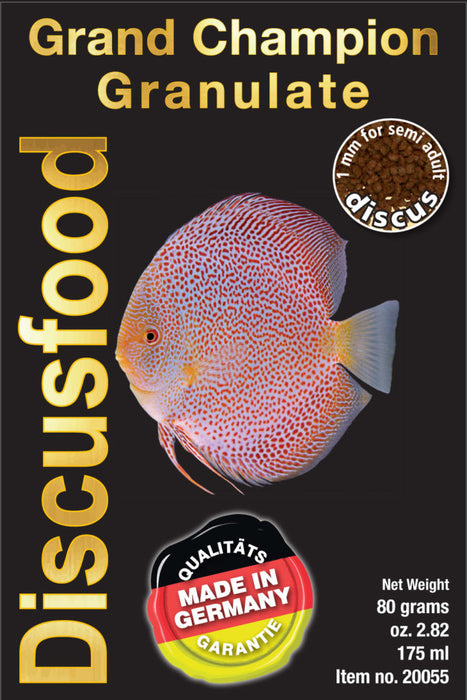 DISCUSFOOD Granulates Grand Champion 1mm 230g