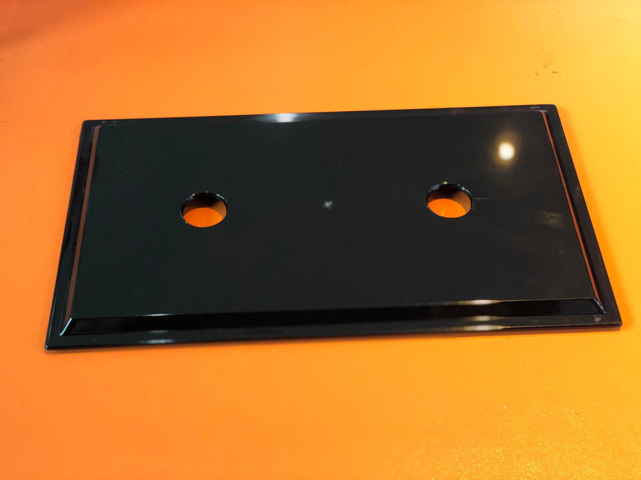 Black Overhead Filter Tray Cover