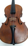 VIOLIN German Manufacture in massive woods - carved - 1910 + Case