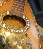 Carlo Foveri Liglio - Napolitan mandolin  - rosewood and many decorations - Italy 1900
