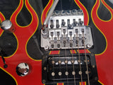 Jackson DK-2 Japanese Hot Rod Flames  MIJ Super Strat 1997