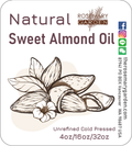 Unrefine Sweet Almond Oil, Origin: USA, Rosemary Garden