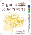 Organic handmade St. John's wort Infused Oil 30ml,Rosemary Garden 聖約翰草浸泡油