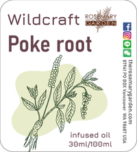 Wildcraft Poke root (Phytolacca decandra)infused oil 30ml, Rosemary Garden 戳根浸泡按摩油
