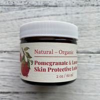 Organic Pomegranate and  Lavender Skin  Protective Moisturizing Cream, 2oz 有機石榴籽薰衣草保濕抗老日晚霜,