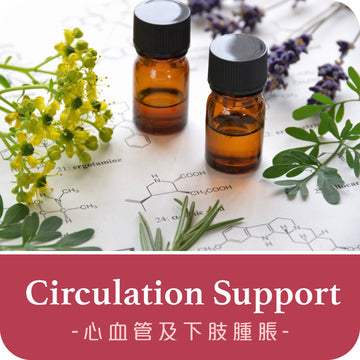 Circulation & Lymphatic Support Massage Oil, 心臟淋巴循環按摩油 100ml