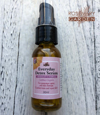 Organic Serum:Everyday Detox Serum,Skin Rejuvenation,Herbalist's formulation 草本精華液