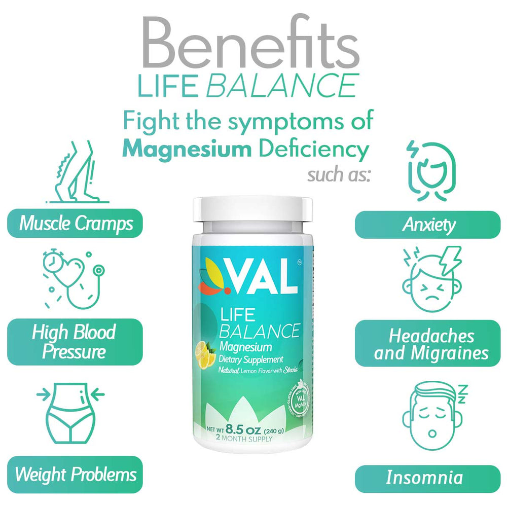 benefits magnesium  suppelements  val life magnesium  pain relief