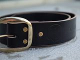 "2"" Thick Leather Belt"