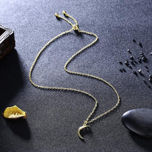 Luna Necklace in 18K Gold Plated