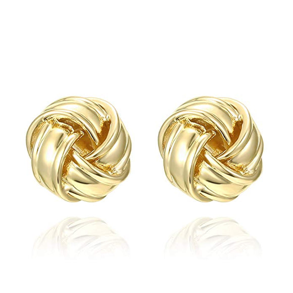 Twist Stud  Earring
