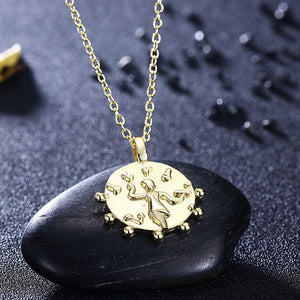 The Circle of Life Necklace in 18K Gold Plated