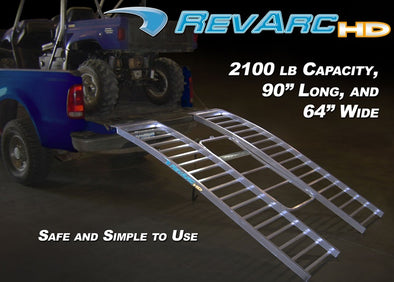 "90"" HD REVARC RAMP (UTV)"