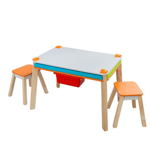 Juego de Mesa con 2 Stools - Ultimate Creation Station