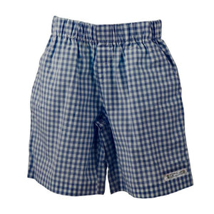 The Check Short Navy