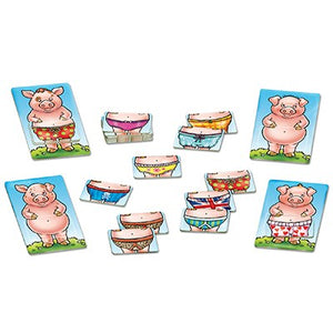 "Juego ""Pigs in Pants"""