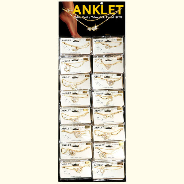 ANKLET 1 SIDE STAND GOLD