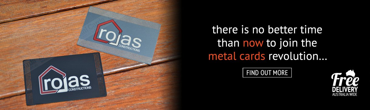 Stainless Steel Metal Business Cards