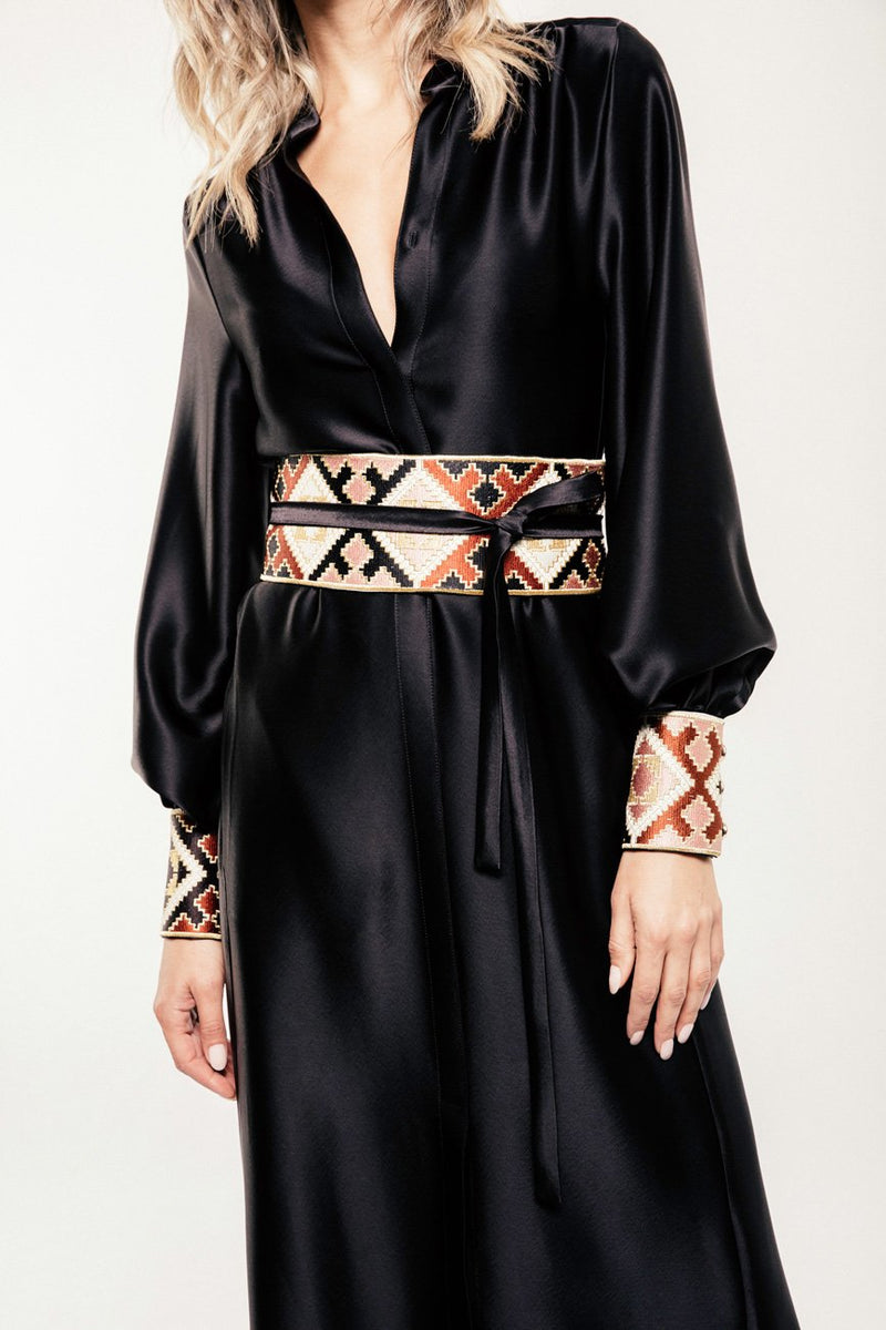 Isfahan Dress - Black Dress RoseWaterHouse